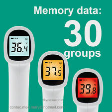Forehead Thermometer Gun Digital Termometro Non-Contact Laser Infrared