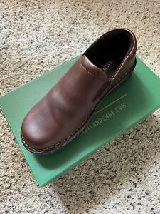 Eastland Newport 3180 Womens Brown Leather Slip On Comfort Shoes Size 7.5 Mediu.