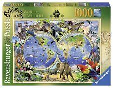 RAVENSBURGER PUZZLE*1000 TEILE*WORLD OF WILDLIFE*TIERWELT*RARITÄT*OVP