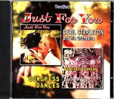 CYRIL STAPLETON- Just For You/Congress Dances CD (2on1) 2 x Classic LP on CD