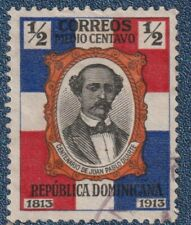 DOMINICAN REP  1914   1/2c  Good Used  (P123)