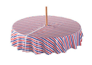 Patriotic Zippered Umbrella Table Cover