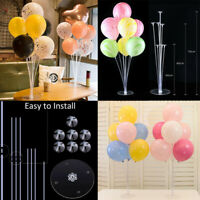 1Set Plastic Balloon Holder Support Sticks Cup Wedding Party Decor Ballon Up hi