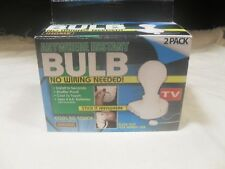 2 Pack ~ Anywhere Instant Bulb (LED) ~ Seen as on TV