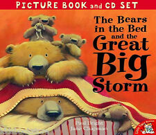 Preschool Story Picture Book & CD: THE BEARS IN THE BED AND THE GREAT BIG STORM
