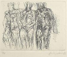 GERHARD KETTNER - Drei weiblcihe Akte - Radierung 1979