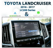 Toyota Landcruiser LC200 - 2016 to 2017 Android Auto & Apple CarPlay Integration