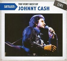 Setlist: The Very Best of Johnny Cash Live (CD-2010,Columbia) BRAND NEW SEALED*
