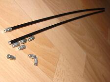 2x Tune Funda Cable Bowden Plástico Retro Conexión Nos Shimano Xtr Suntour XC