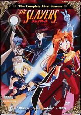 Slayers . The Complete Season 1 . Anime . 4 DVD . NEU . OVP