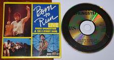 BRUCE SPRINGSTEEN ~ BORN TO RUN LIVE ~ LTD EDITION UK 4-TRACK CD SINGLE 1986