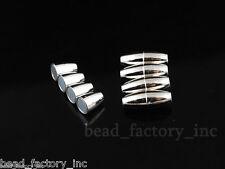 10 Sets Magnet Stopper Clasp Magnetic Fit 2mm Plated Necklace Bracelet Connector