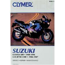 Clymer Service Manual Maintenance Repair Book M383-3 Suzuki Katana 600 1988-1996
