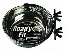 MidWest Homes for Pets Snapy Fit Food Bowl / Pet Bowl, 20 oz. for Dogs, Cats & S