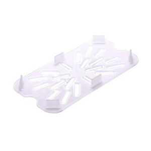 Fourth Size Translucent Drain Shelf