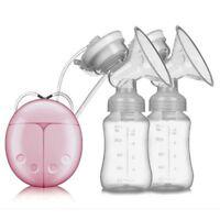 Portable BPA-free Silicone Breastfeeding Electric Breast Pump Milk Pump Suction