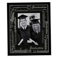 Impressions Aluminium Satin/black Photo Frame Graduation Fa315