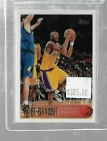 1996 Topps Kobe Bryant rookie card - Lakers
