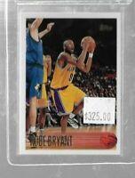1996 Topps Kobe Bryant rookie card - Lakers