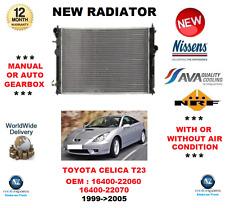 FOR TOYOTA CELICA T23 16400-22060 16400-22070 1999->2005 RADIATOR OE QUALITY
