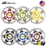 SNAIL MTB Bike Disc Brake Floating Rotor 160mm,180mm,203mm 6 Bolts Rotor Caliper