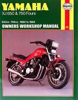 1980-1984 Yamaha XJ650 XJ750 XJ 650 750 Maxim Seca HAYNES REPAIR MANUAL 738