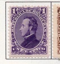 Honduras 1878 Early Issue Fine Mint Hinged 1c. 175686