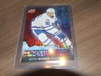 2017-18 UD Overtime ICE COLD RED  #ic-9 mitch marner  11/25