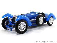 BUGATTI TYPE 59 1:18 Scale Metal Diecast MK II Model Models Toy Car Miniature