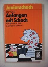 Juniorschach, Anfangen mit Schach, J.N. Walker, Rowohlt-Verlag 1987