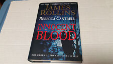 Innocent Blood by James Rollins & Rebecca Cantrell (2013) SIGNED X 2 1st/1st