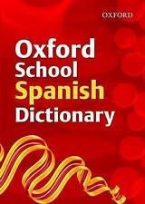 Oxford School Spanish Dictionary, Rollin, Nicholas, Grundy, Valerie, New Book
