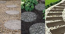 Pathway Rubber Stepping Stone Flexi Curve Step Garden Path Walkway