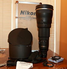 EX+++ Nikon Nikkor 600mm F4 AF-S  ED Lens f4.0 Autofocus ED-IF AFS D 4.0 600/4