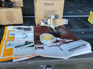 Biesemeyer Table Saw T-SQUARE CUT-OFF STOP MINT NOS(?)