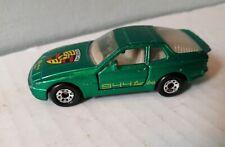 Vintage Matchbox 1987 PORSCHE 944 TURBO GREEN METTALIC
