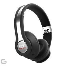 Écouteurs noirs DJ
