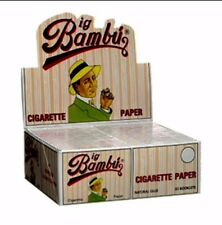 Big Bambu 50 Booklet Packs Cigarette Rolling Papers