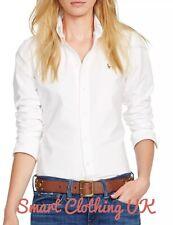 Ralph Lauren Women's Slim Fit Oxford Shirt  (White)    RRP £109