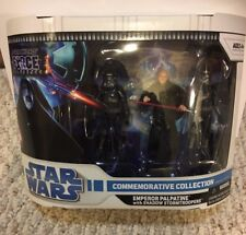 2008 Star Wars Force Unleashed Emperor Palpatine w/ Shadow Stormtroopers Box Set