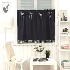 1PC Short Doorway Curtain Japanese Kitchen Half Curtain Living Room Home Decor