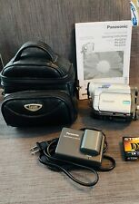 New ListingPanasonic Pv-Gs31 Mini Dv Camcorder Video Camera Bundle MiniDv