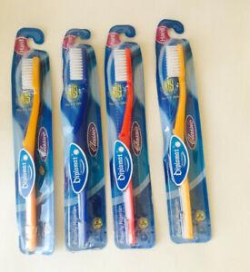 6 JORDAN Smokers Toothbrush - Extra Hard - (Color Varies)  USA Seller