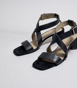 COUNTRY ROAD : SZ 38,39,40,41 trenery tori mid heel sandal 7,8,9,10 [CR LOVE]