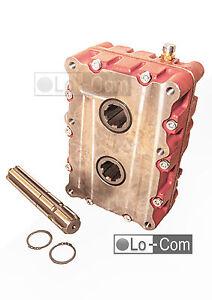 Umkehrgetriebe, Wendegetriebe, Zapfwellengetriebe 1:1, 1:1,4, 1:2, 60kw