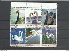 Angola wunderschöner Zusammendruck Schwäne