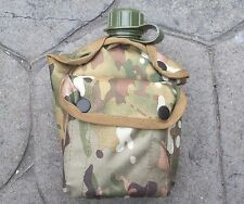 MULTICAMO CANTEEN WATER BOTTLE COVER - 1 LITRE NEW MADE - MOLLE SORD COMPATIBLE