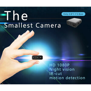 XD Mini Micro Spy HD 1080P Camera Night Vision for Home Office Car Indoor