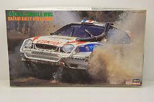 TOYOTA COROLLA WRC SAFARI RALLY KENYA 1998 HASEGAWA 1/24 NEUF BOITE