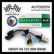35W HID Xenon Conversion KIT H4 Driving Lights 5000K Super White Headlight beam